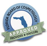 Florida Board of Cosmetology Approved